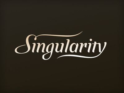 Singularity logo rev2 logo lettering singularity