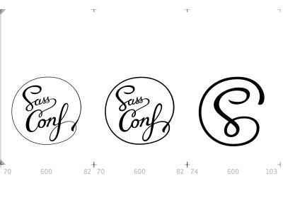 SassConf logo variations (working draft) sassconf sass