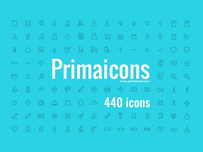 Primaicons Icon Set simple buy download 24px icon illustrator vector