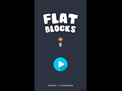 FLAT BLOCKS phaser.io free flat block play js phaser game