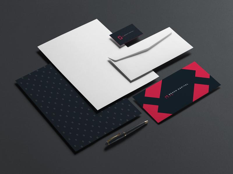 JR Reach Branding Concept identity design brand icon creative agency identity branding logo design identity logo design branding