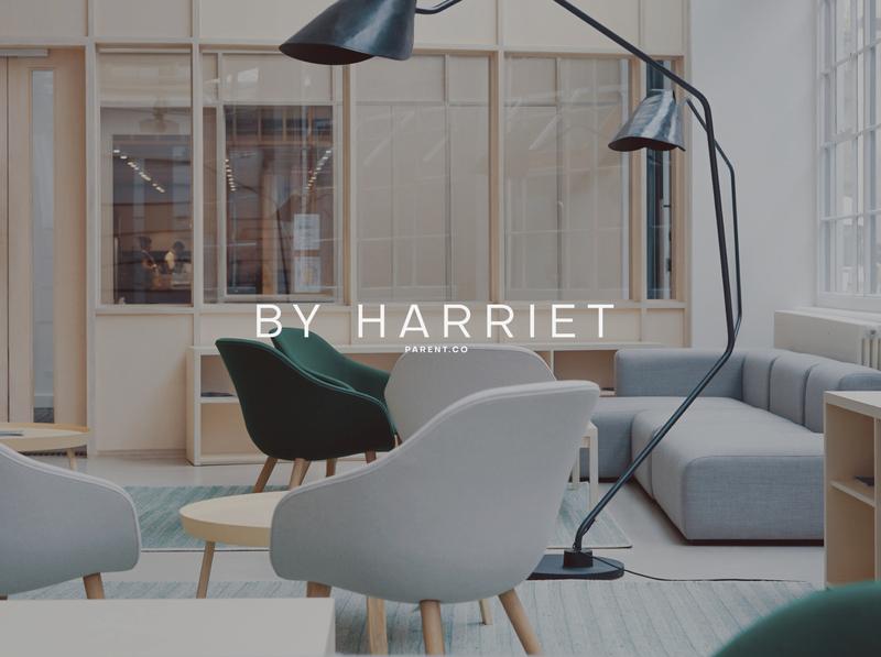 BY HARRIET design logo identity branding identity branding