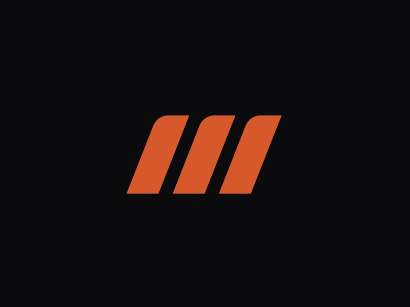 Manda Garage instaart creative agency orange colour colour theory web design mark logo brand identity branding identity design sports car cars garage car automotive identity branding agency branding