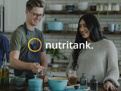 Nutritank   Identity Design web brand and identity identity design identity branding brand logo design identity logo design branding