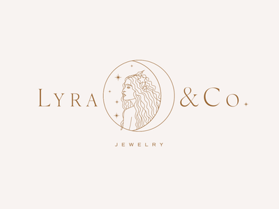 Lyra + Co Jewelry Logo