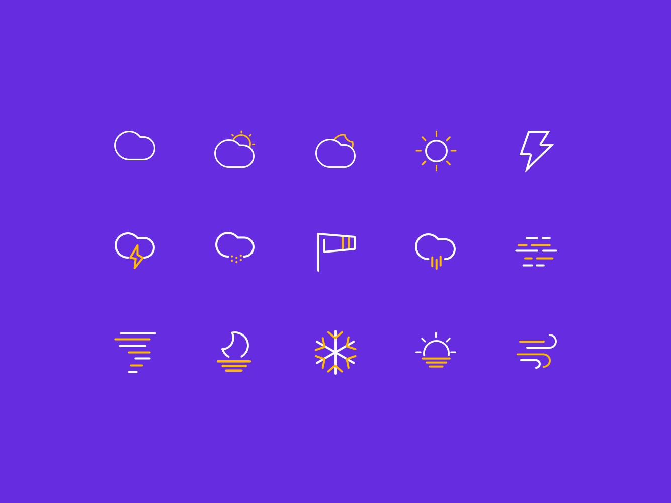 Weather Icon Practice
