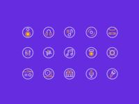 Music Icon Practice
