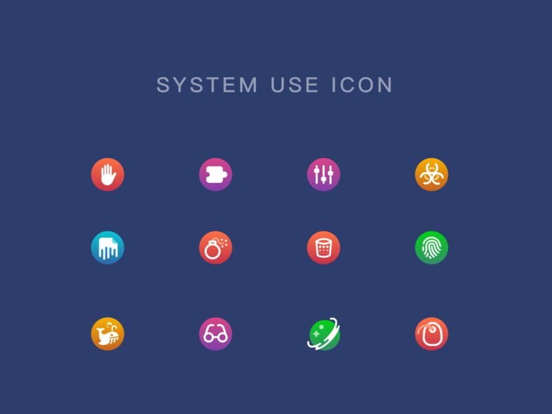 System Use Icon Practice