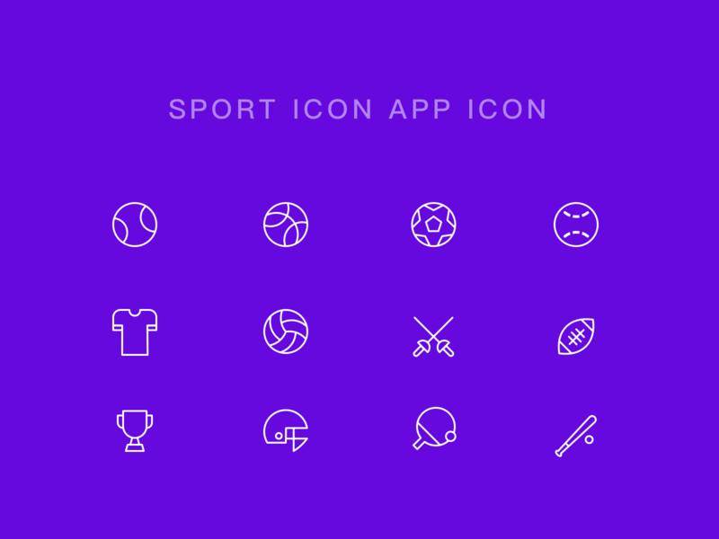 Sport Icon Practice