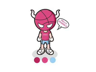 Dribbble Little monsters  Practice