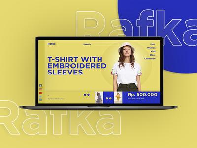 rafka design website