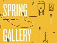Spring Gallery Walk