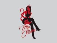Miss October - devil