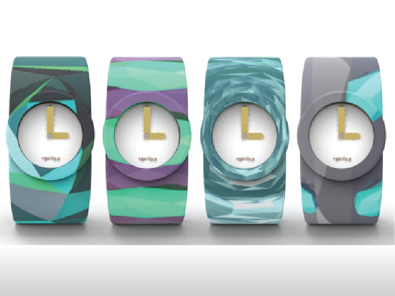 Watch Designs crystal skins patterns polygonal