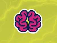 Brain Power Sticker