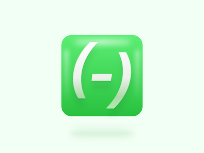 Tymate Icon green icon agency tymate design 3d shadow glow icon branding