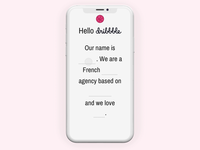 Hello Dribbble, we are Tymate 👋