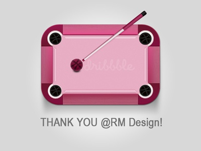 Thank you @RM Design debut first shot dribbble thanks