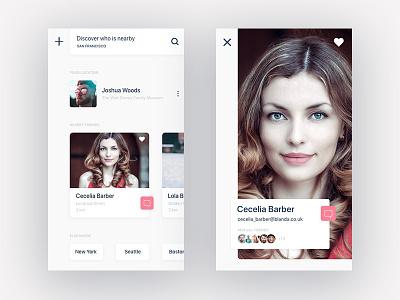 Daily UI #006 User Profile mobile user profile 006 daily ui