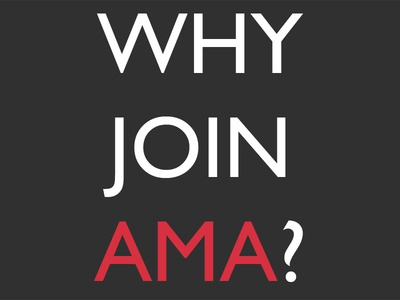 Why Join AMA?