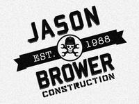 Retro Construction Logo