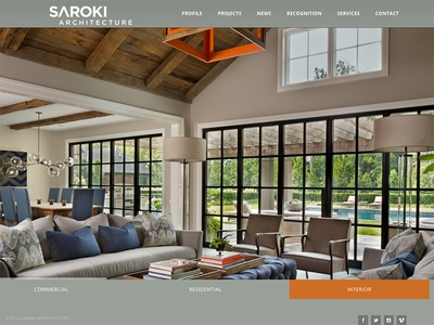 Saroki: Website