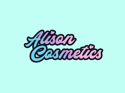 LogoCore Challenge Day 1: Alison Cosmetics