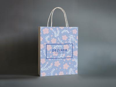 Sakura Bag Design (Pastel)