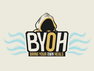 BYOH logo bring heals tyrael blizzard heroes of the storm mlg sports team