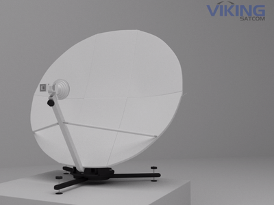 Satellite 3d animation quick deploy satellite
