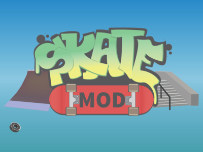 Starter Screen ramp stairs skateboard wheels ball bearing mod skate game app