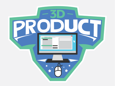 3d Product Logo 3d logo
