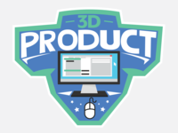 3d Product Logo