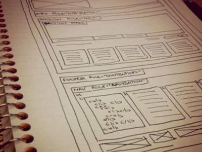 building blocks sketch pre-planning