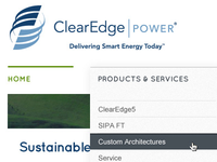 ClearEdge|POWER redesign