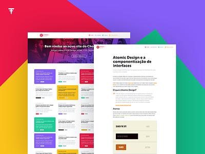 Choco la Design jekyll sass javascript css html frontend blog ui design ui