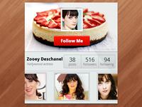 User Profile Widget