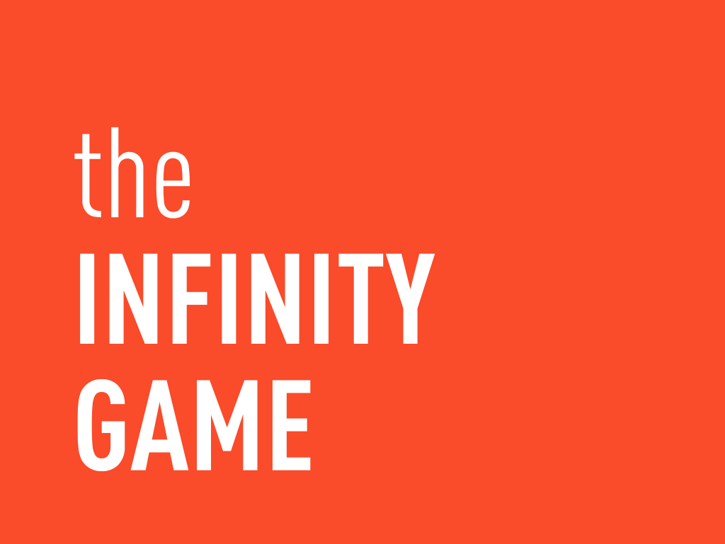 Infinity Game orange developers developement front-end web development front-end development front-end logo infinity infinity logo infinity game ebanx newsletter