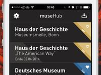 "muse ""hub""  screen"