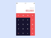 Daily UI Challenge #04 - Calculator