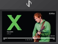 Ed Sheeran Live Website Design