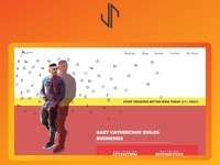 Garyvee Website Design