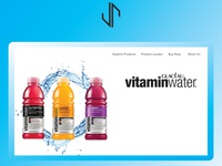 Vitamin Water Website Design
