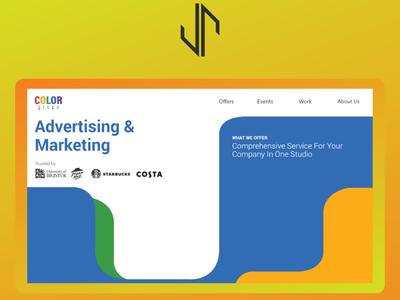 Color Grupa Website Design