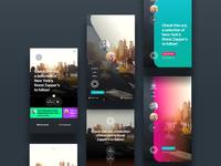 Smart assistant app designs