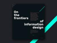 Website design holding page