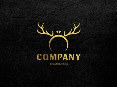 Deer Antler Ring Logo II.