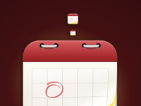 Fantastical icon detailed