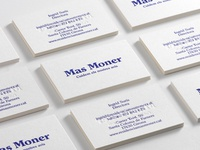 Mas Moner – Business card