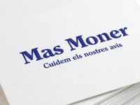 Business card – Mas Moner